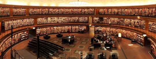 The Very Existence Of Libraries Affords The Best Evidence
